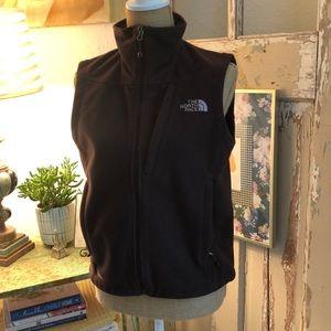 The North Face Windwall Brown Vest Women's Medium